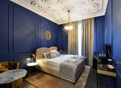 Barokk kék - 1552hotel.hu
